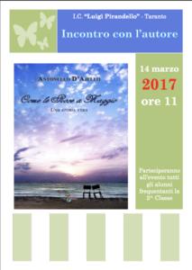 Locandina D'Ajello 14 marzo a Taranto